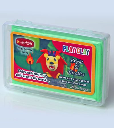 PLAY CLAY 150 GMS BAR - GREEN
