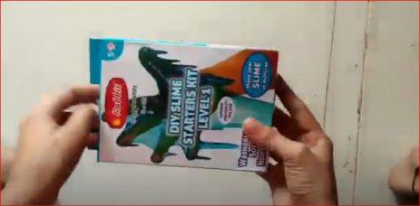 Rabbit slime starter kit pack  making video